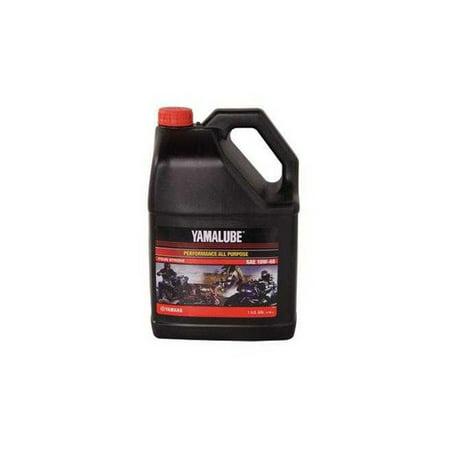 Yamalube Performance All Purpose 4-Stroke Oil 10W-40 1 Gallon 10w