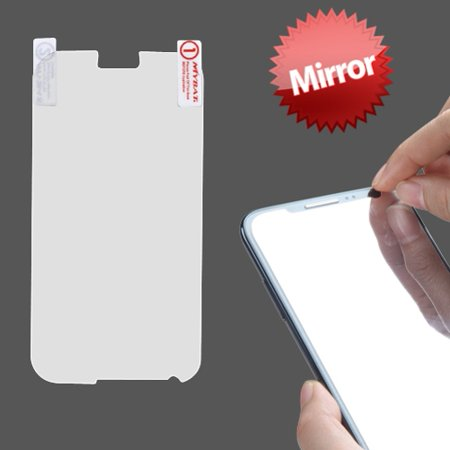 Samsung GALAXY Note 2 Mirror Screen Protector HD Clear LCD Cover Film Display Touch Screen Shield (Samsung Note 2 Apps)