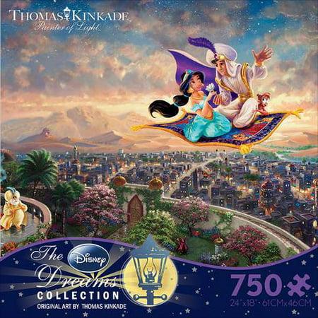 Ceaco - Thomas Kinkade - Disney - Aladdin - 750 Piece Jigsaw Puzzle