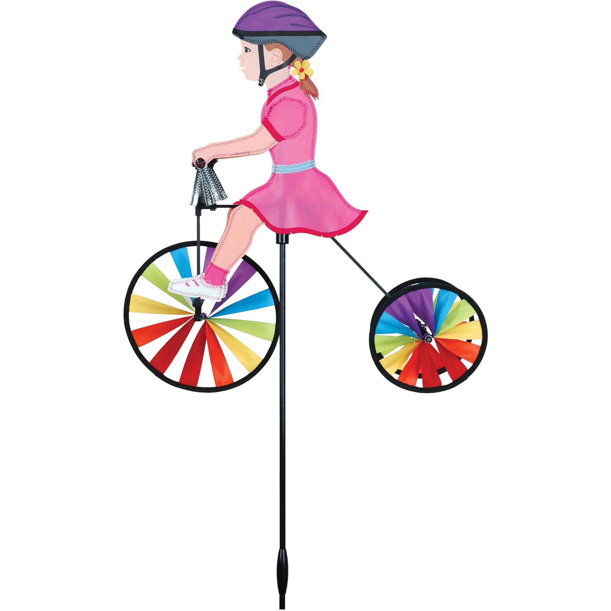 "Premier Designs 19"" Tricycle Spinner, Girl by Premier Kites"