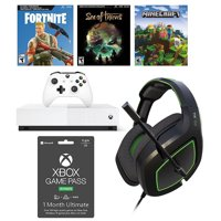 Xbox One S All Digital 3 Game Bundle with BONUS VoltEdge Headset and BONUS Game Pass Ultimate