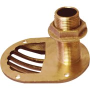 Groco STH Bronze Scoop Through-Hull with Nut