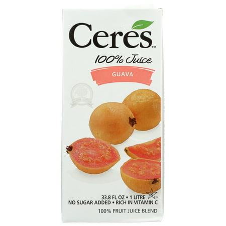 Ceres Juices Juice Guava, 33.8 Fl Oz