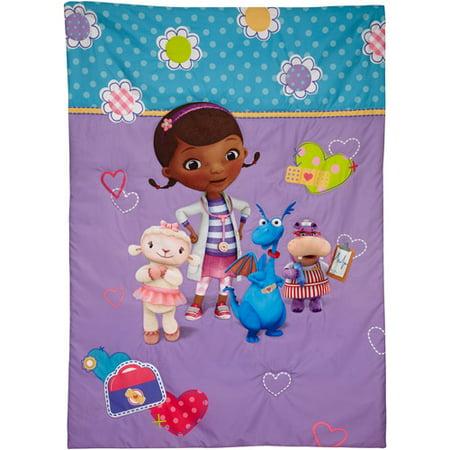 Disney Doc Mcstuffins Good As New 4 Piece Toddler Bedding