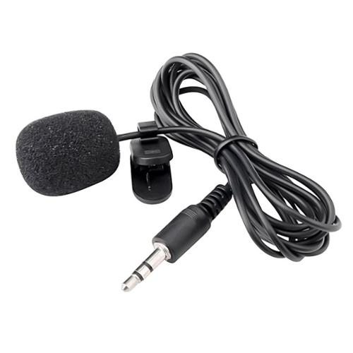 Insten 3.5mm Mini Flexible Collar Lapel Mic Microphone For Smartphone Tablet PC Computer Universal