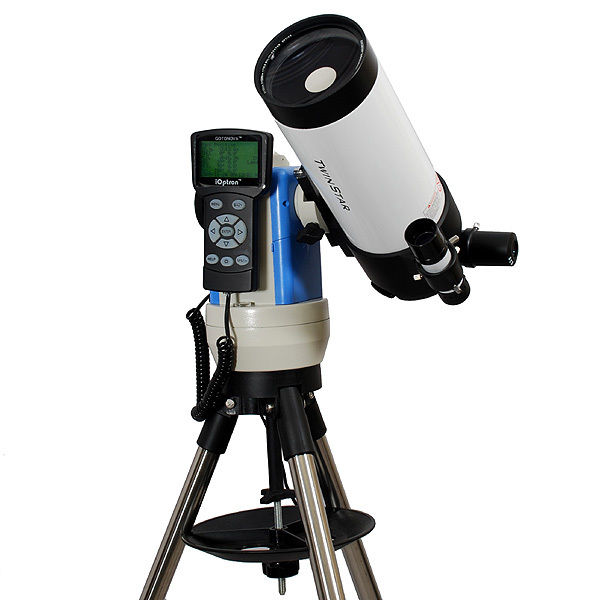 Twinstar 90mm Computerized Cassegrain Telescope With GPS, White by Twinstar
