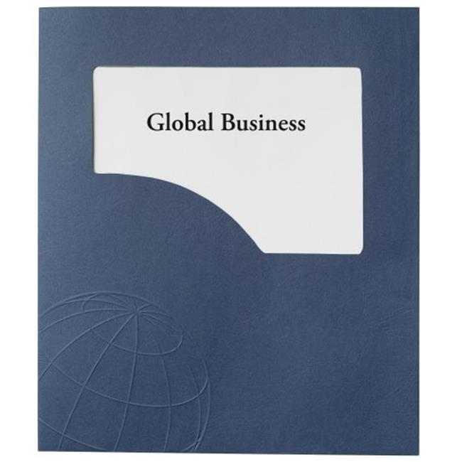 GBC 21544 Designer Global Folders, 50 Sheets - 5 Ct. Pack Of 6