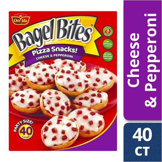 Bagel Bites Cheese Pepperoni Mini Bagels 40 Count 311 Oz
