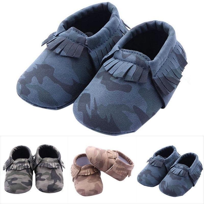 Smart Infant Baby Girl Summer Fashion Soft Sole Crib Fringe Tassels Sandal Shoes