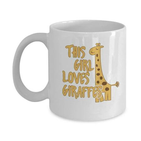 Giraffe Lovers Gift Mug for Women and Girls ()