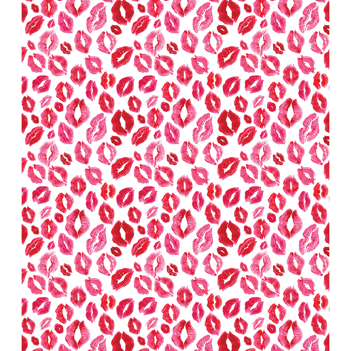 """Craft Consortium Decoupage Papers 13.75""""X15.75"""" 3/Pkg-Kisses For You - image 1 of 1"""