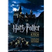HARRY POTTER: COMPLETE 8-FILM COLLECTION [DVD BOXSET] [CANADIAN; FRENCH]