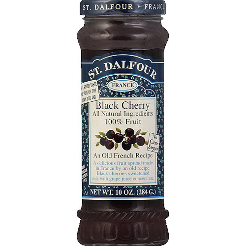 St. Dalfour Deluxe Black Cherry Fruit Spread, 10 oz, (Pack of 6)