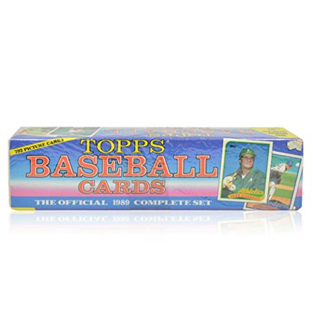 Topps Baseball Cards Complete Set 1989 Walmart Canada