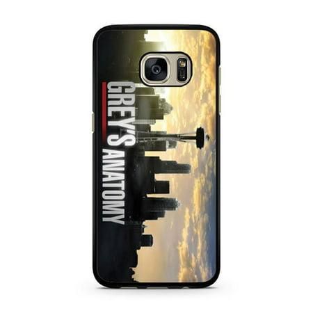 Greys Anatomy Skyline Galaxy S7 Edge Case - Walmart.com
