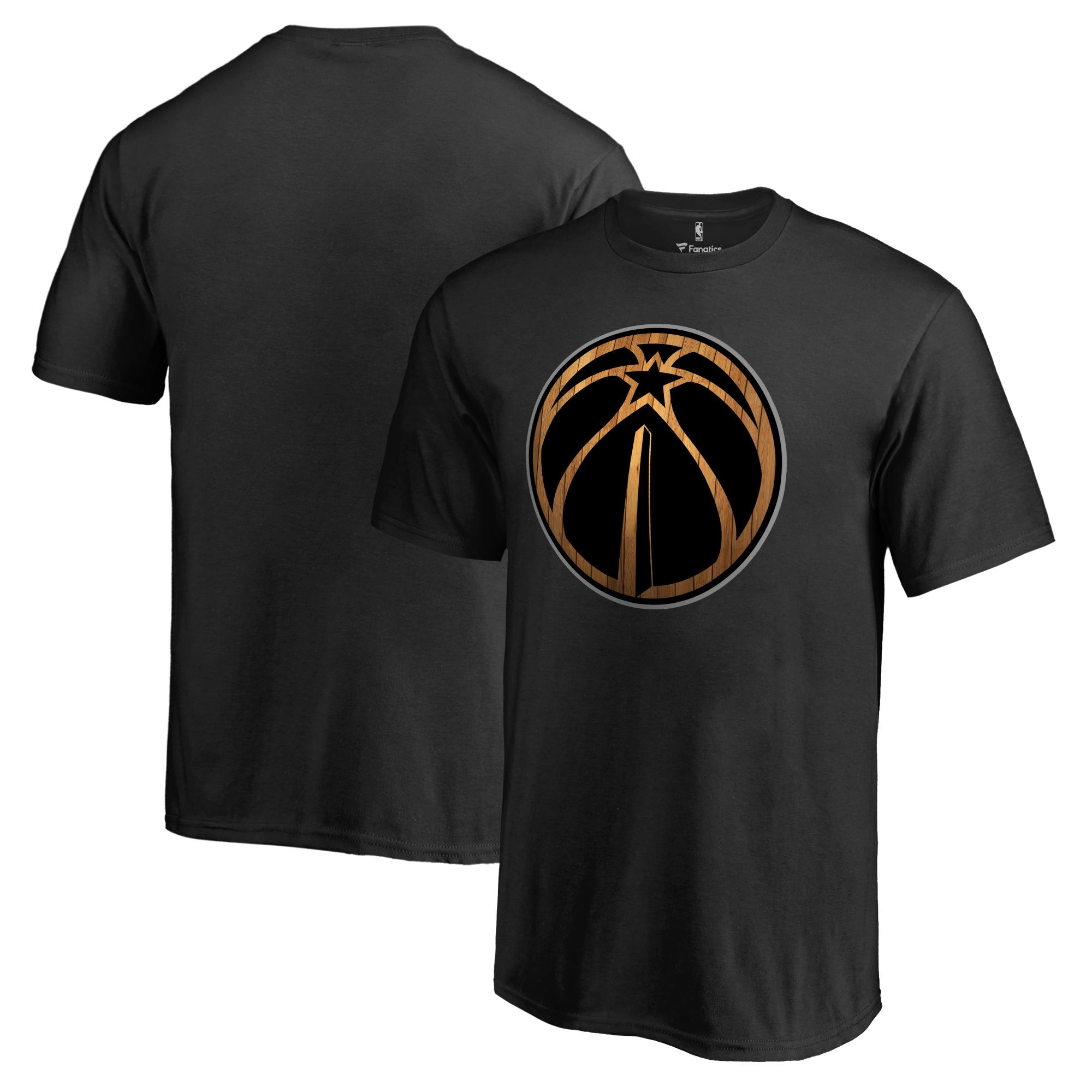 Washington Wizards Youth Hardwood T-Shirt - Black