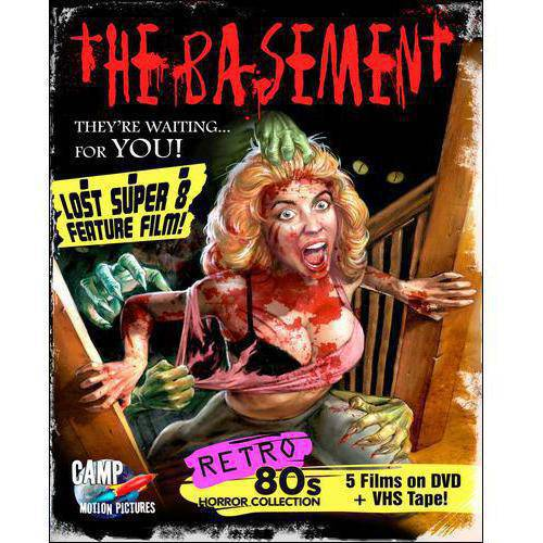 The Basement: Retro 80s Horror Collection (DVD + VHS)