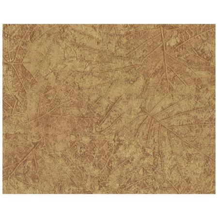 Diamond Toss Wallpaper - Color Library II Tossed Leaves Wallpaper