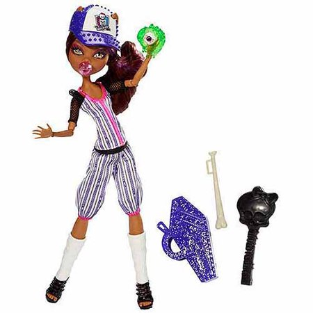 Monster High Ghoul Sports Clawdeen Doll
