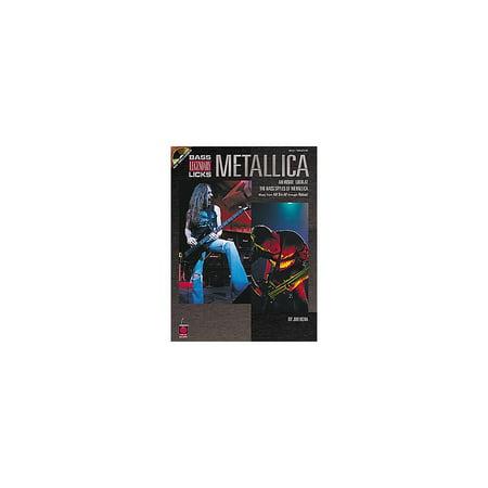 - Cherry Lane Metallica Bass Guitar Legendary Licks Book with CD