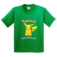 2952a076 Product Image New Way 562 - Youth T-Shirt Pokemon Go Gotta Catch 'Em All  Pikachu