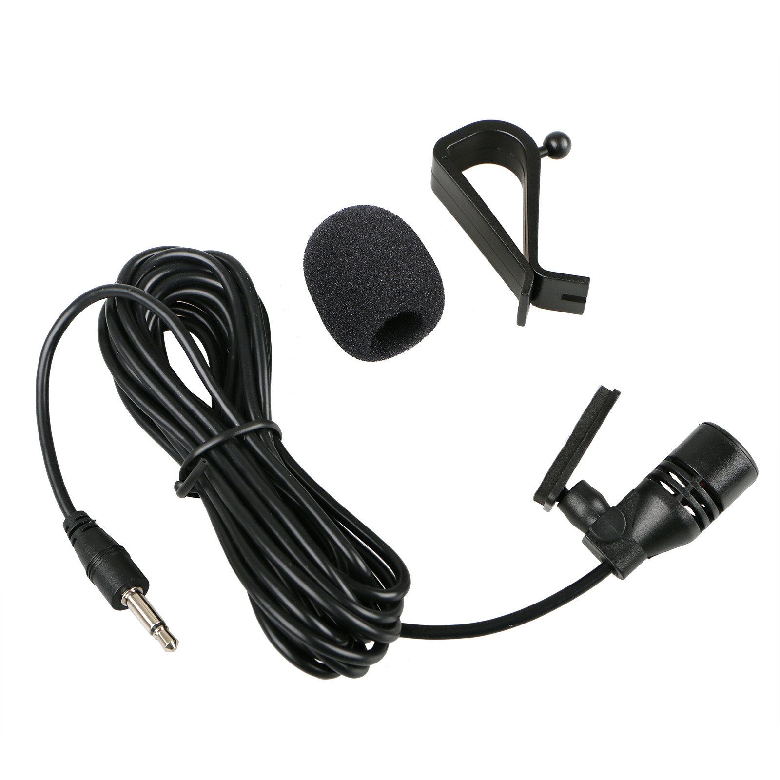 10 Feet 3.5mm Microphone Car Stereo GPS Bluetooth Enabled Audio DVD External Mic