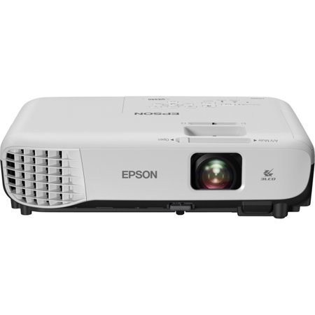 Epson VS350 XGA 3,300 lumens color brightness (color light output) 3,300 lumens white brightness (white light output) HDMI 3LCD projector