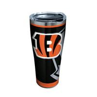 NFL Cincinnati Bengals Rush 30 oz Stainless Steel Tumbler with lid