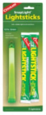2 Pack Green Lightstick Non-Toxic Weatherproof Glows For 12 Hours by