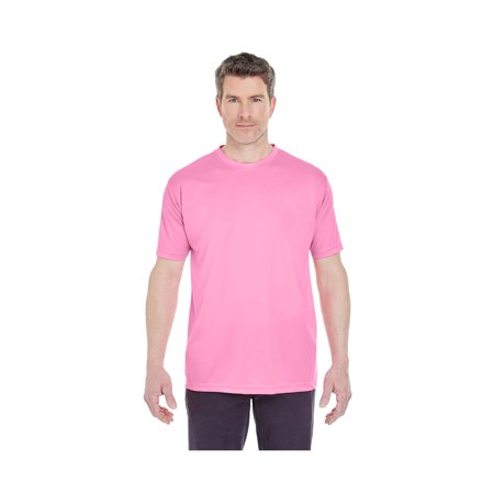 UltraClub Men's Cool & Dry Sport Interlock Tee, Style 8420