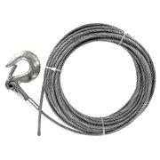 """Baron 09005 50' 1/4"""" 7x19 Galvanized Pre-Cut Cable"""
