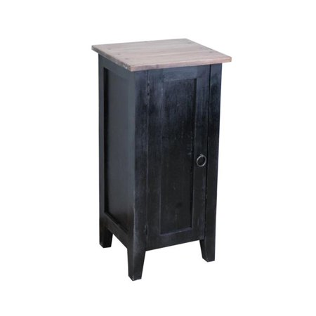 Sunset Trading CC-TAB1025TLD-ABSV 20 lbs Cottage 1 Door Accent Cabinet ()