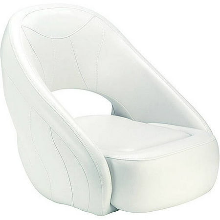 Attwood Avenir Sport Upholstered Boat Seat with Flip-Up Bolster