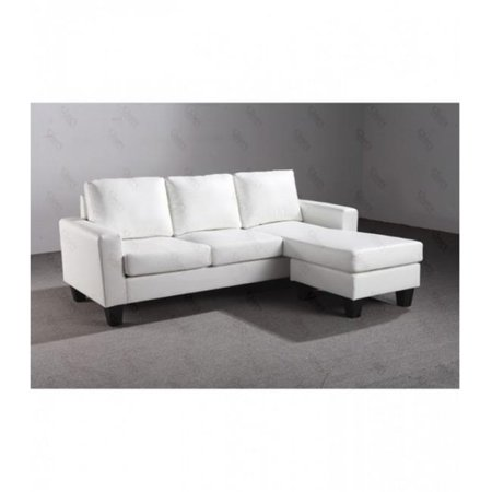 Enjoyable Nova Furniture Group Nf217 Sch Sectional Sofa Chaise White Ncnpc Chair Design For Home Ncnpcorg