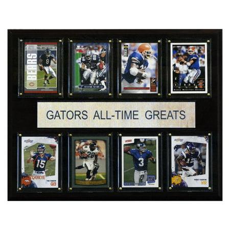 C&I Collectables NCAA Football 12x15 Florida Gators All-Time Greats Plaque