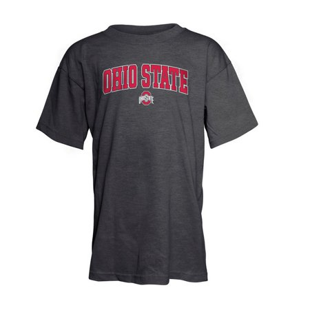 Ohio state buckeyes kids tshirt heather gray m for Ohio state t shirts for kids