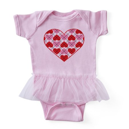 CafePress - Argyle Heart - Cute Infant Baby Tutu -