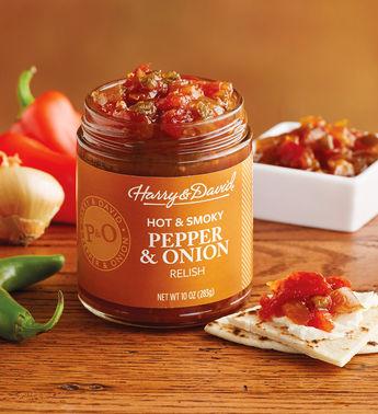 Harry & David Hot Smoky Pepper & Onion Relish, 10 Oz