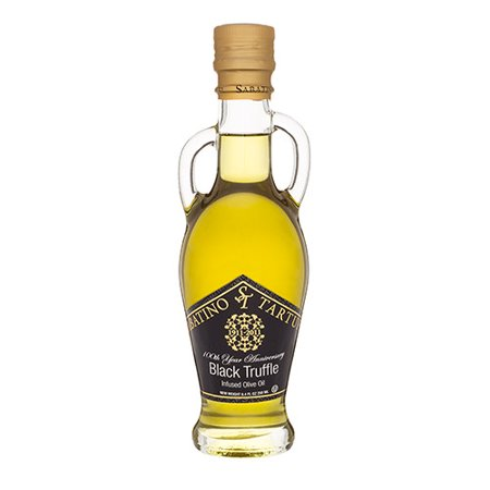 Black Truffle Infused Olive Oil by Sabatino Tartufi (8.4 fluid ounce)