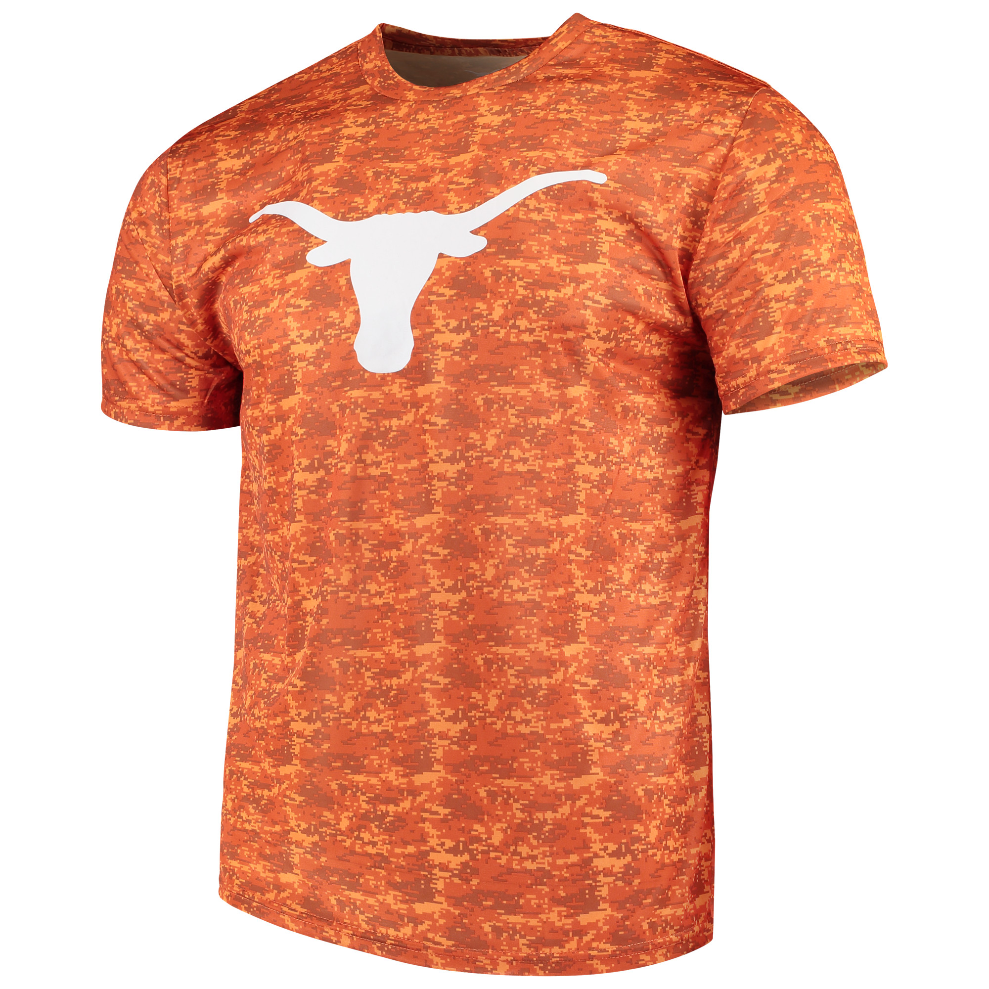 Men's Camo Texas Longhorns Dundee T-Shirt