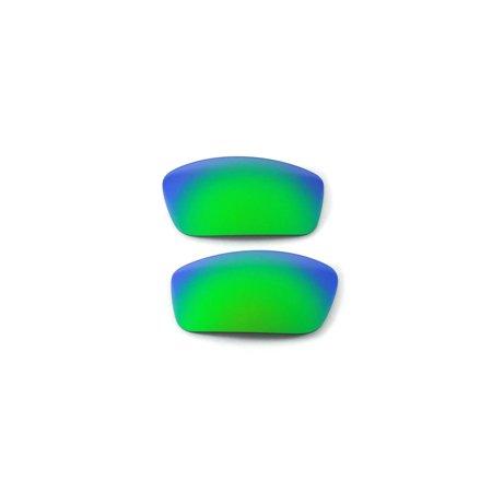 5acccb5a87 Walleva - Walleva Emerald Polarized Replacement Lenses for Oakley New Square  Wire 3.0 Sunglasses - Walmart.com