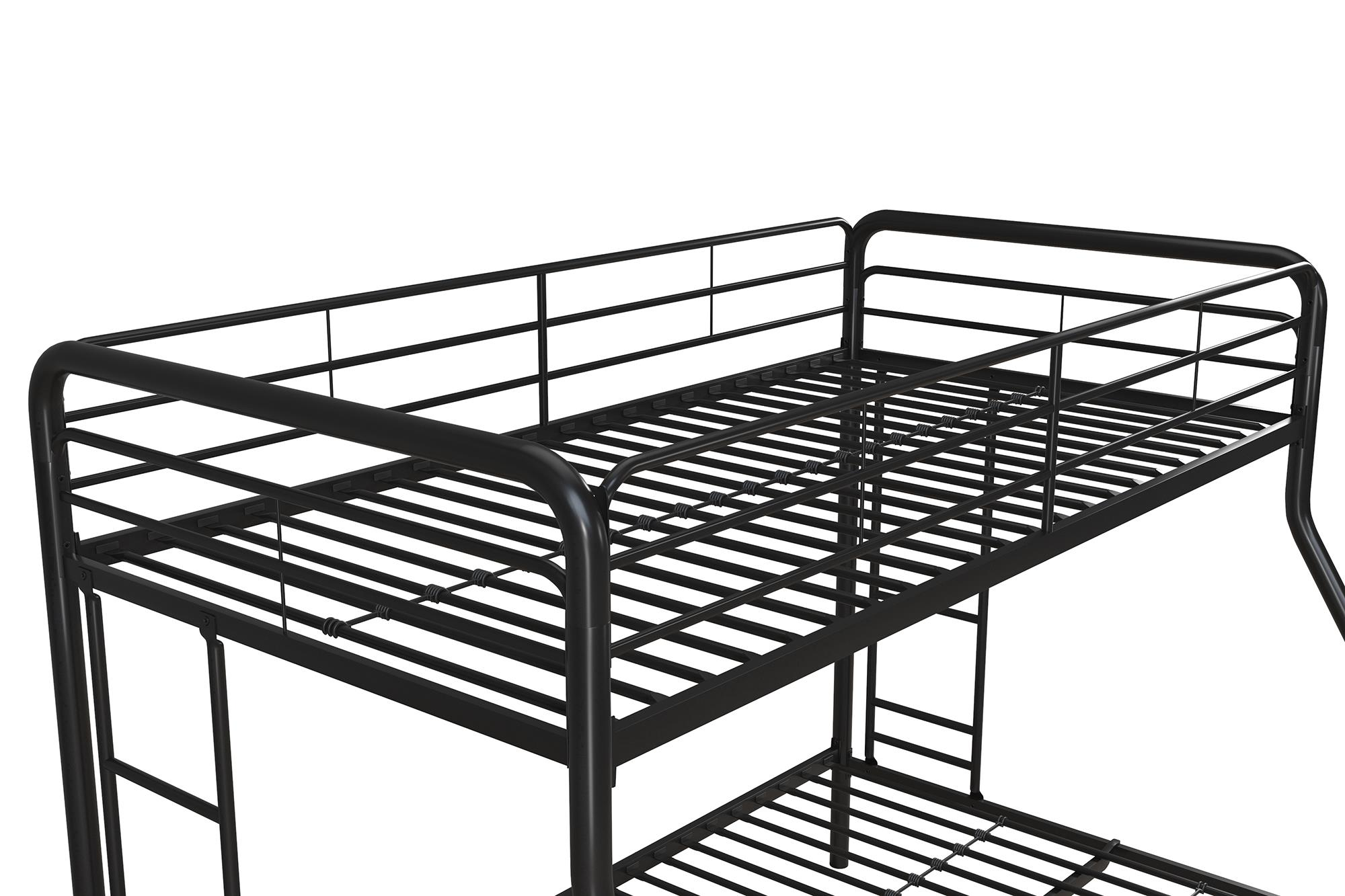 dorel twin over full metal bunk bed multiple colors image 5 of 15