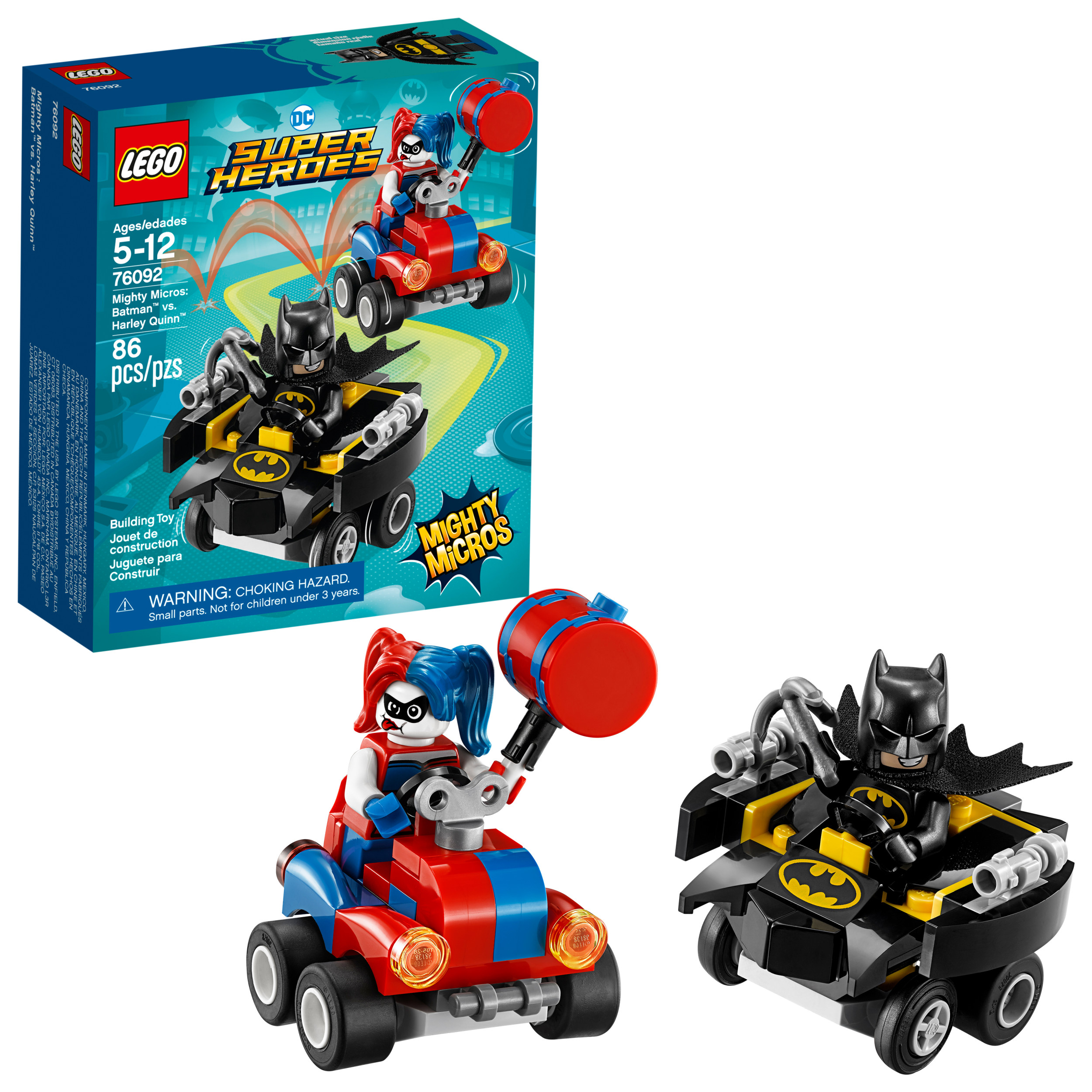 LEGO Super Heroes Mighty Micros: Batman vs. Harley Quinn 76092
