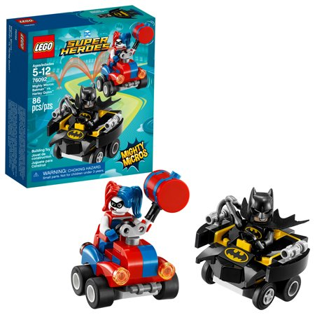 LEGO Super Heroes Mighty Micros: Batman vs. Harley Quinn 76092](Lego Batman Walk)
