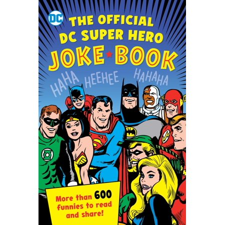 The Official DC Super Hero Joke Book](Superhero Magazine For Kids)