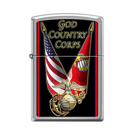 Zippo Custom Zippo Lighter Officially Licensed United States Marine Corps USMC