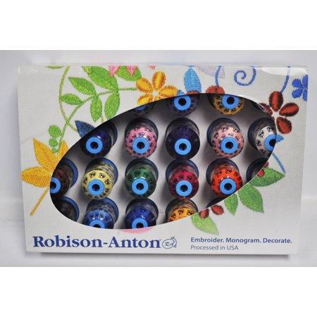 Robison Anton Top 24 Polyester Embroidery Thread (Robison Anton Polyester Thread)