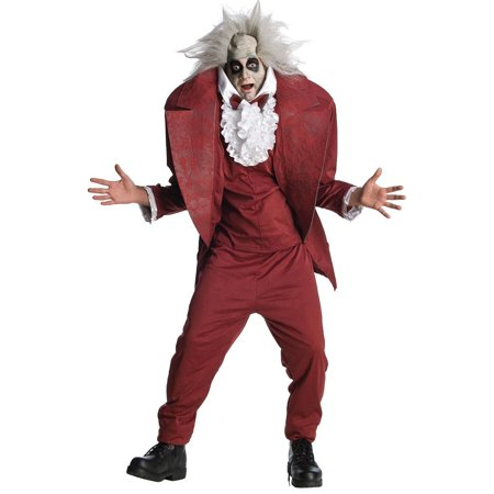 Beetlejuice Shrunken Head Costume Adult - Beetlejuice Head Shrunken