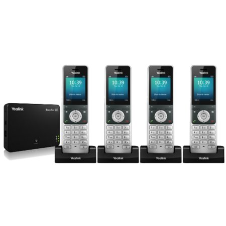 4610sw Ip Telephone (Yealink W56P with 3 W56H Yealink IP DECT Phone W56P)