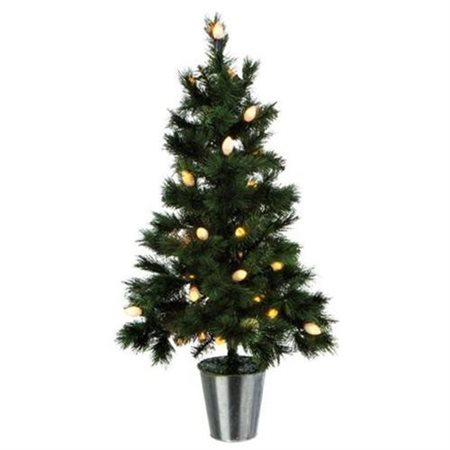 Midwest Seasons 3' Green Pine Artificial Christmas Tree